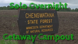 Solo Overnight Getaway Campout