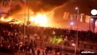 UFO Egypt,Incredible Fourth Horseman, Egyptian Riots, Feb 2011 HD mp4 Thumbnail