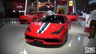 Dubai Motorshow 2013 Highlights - 4 Veyrons, P1, Venom GT, Lykan, Zenvo