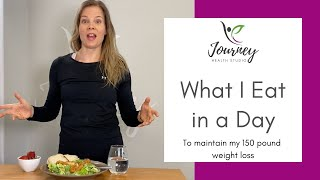 What I Eat in a Day || Maintaining Weight Loss