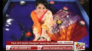 HomeShop18.com - Stylish designer sarees by Aanya