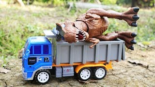 Dinosaurs & Truck Toys For Kids , Dinosaur Toy Review