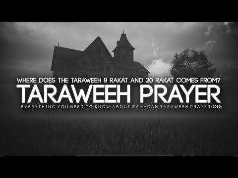 Secrets About Taraweeh Prayer in Ramadan - YouTube