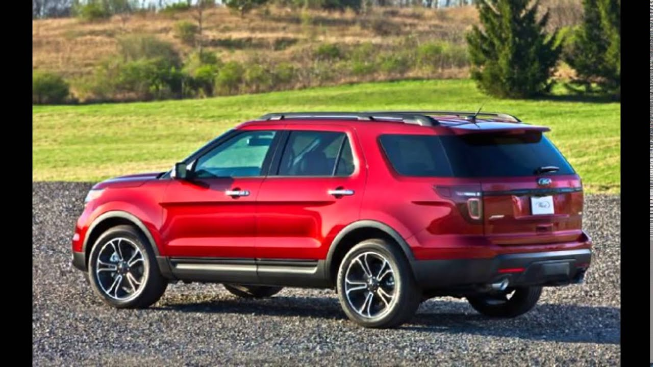 2016 Ford Explorer Ruby Red