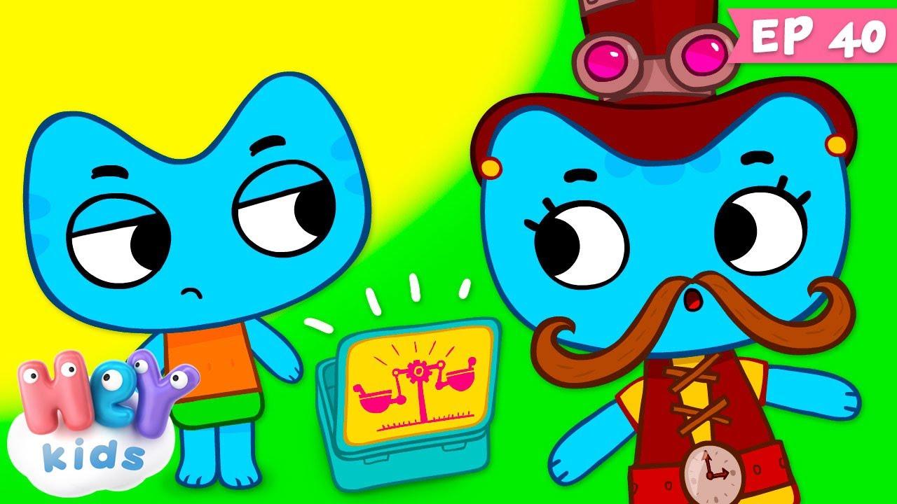 Kit și Keit: De unul singur   Desene animate despre munca in echipa   HeyKids