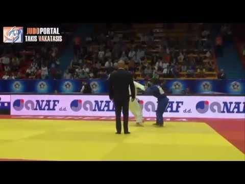 Judo :: Joana Ramos medalha de prata [-52Kg] no Grande Prémio de Zagreb em 2014