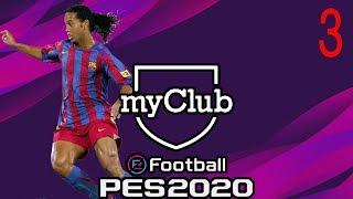CI REGALANO RONALDINHO IN PRESTITO PER 10 PARTITE! ⏩ PES 2020 MY CLUB #3