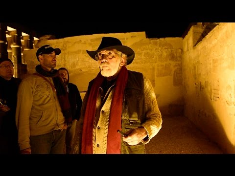 John Anthony West in The Temple of Luxor - 2015