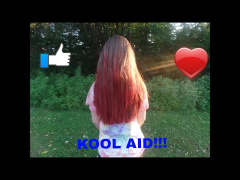 How to SUCCESSFULLY dip dye your hair with kool aid!