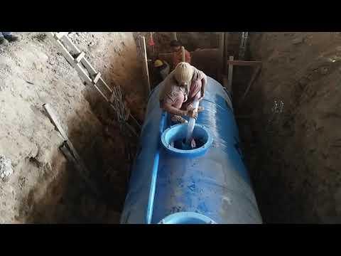 Proses Isi Air Tangki Ipal