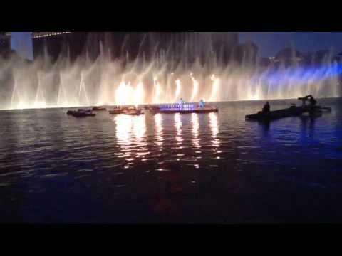 Drake live at Bellagio water fountain 2017 billboard music awards