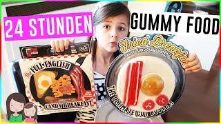 24h Gummy Food essen 😳 Toll oder eklig? Alles Ava