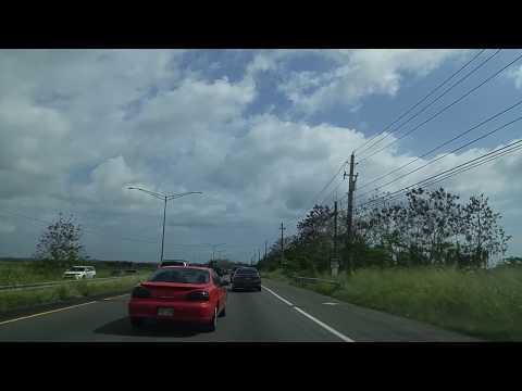 Desde Añasco hacia Balboa en Mayaguez,Puerto Rico