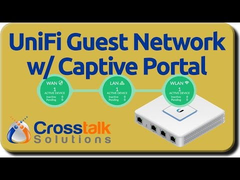UniFi Guest Network with Captive Portal