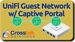 UniFi Guest Network with Captive Portal