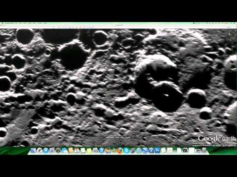Alien mining operations on the planet Mercury
