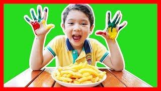 สกายเลอร์ | 🖐 🎨 มือสกปรก ล้างมือด้วย | Wash Your Hands, Johny Johny Yes Papa Kids Nursery Rhymes