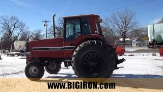 BIG IRON ONLINE AUCTION 1-25-2017: 1982 International 5288 2WD Tractor