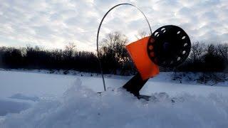Ловля щуки зимой на жерлицы. Рыбалка 23 февраля.[Победы и поражения]