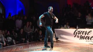 GROOVE'N'MOVE BATTLE 2015 - BRUCE YKANJI Judge Demo