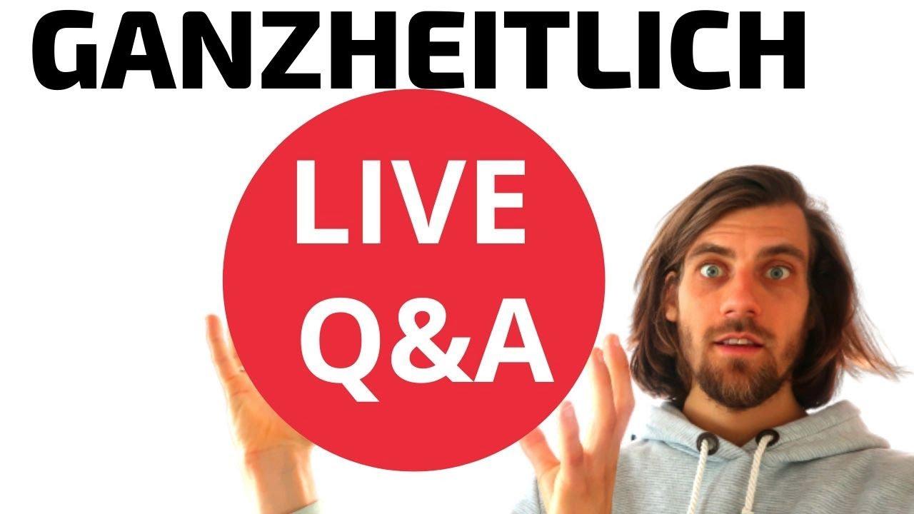 Wie du als bewusster Mensch deinen Körper ganzheitlich entgiftest - Live Q&A