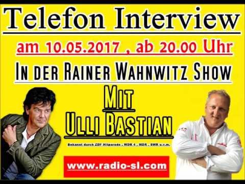 Interview Rainer Wahnwitz mit Ulli Bastian bei Radio SL