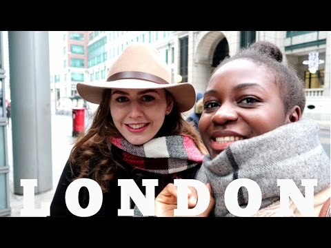 Vlog #2 | Places to visit/Hangouts in London City - part 1