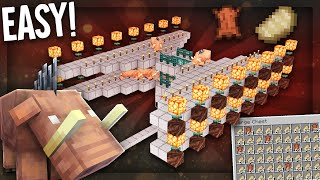 Tiny Stackable Hoglin Farm! 12 Stacks of Cooked Pork per HOUR! Minecraft 1.16 Tutorial