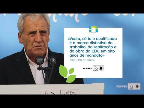 Jerónimo de Sousa: Apresentação da candidatura da CDU a Loures