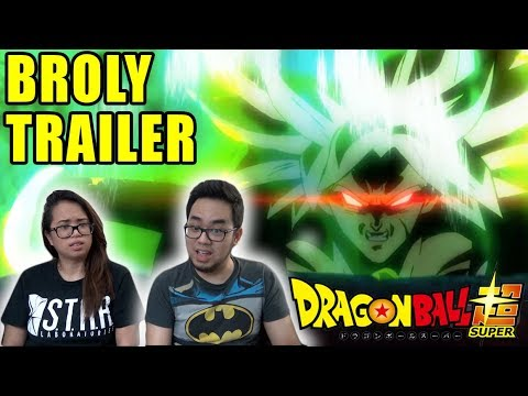 Dragon Ball Super BROLY MOVIE English Dub Trailer REACTION