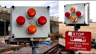 Volks Railway (No5) Level Crossing, Brighton