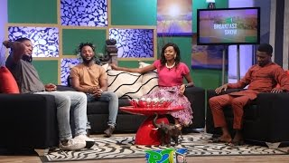 Cast and Crew of the Movie OJUKOKORO (Greed) on the #R2TVBreakfastShow