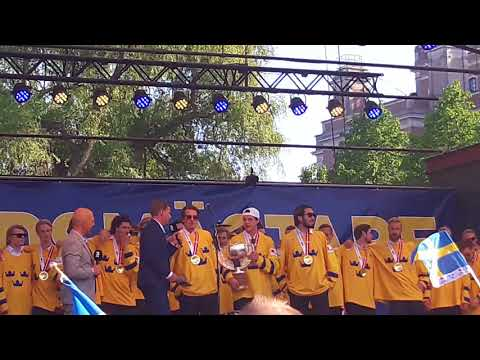 "The Poodles & Tre Kronor ""En för alla för en"" Guldfirande i Stockholm 2018"