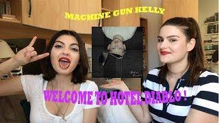 On réagit à HOTEL DIABLO de MACHINE GUN KELLY !