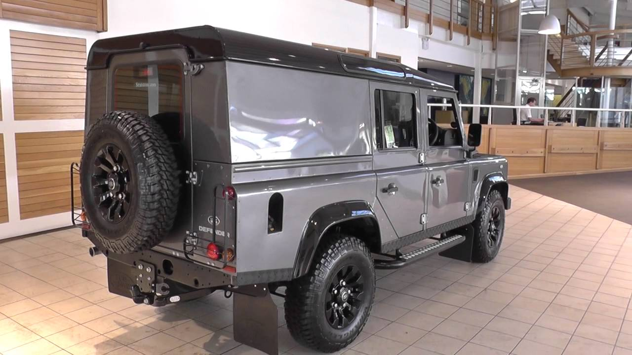Land Rover Defender 110 For Sale >> Land Rover Defender 110 LWB Diesel 2015MY TD4 XS Utility Wagon U9180 - YouTube