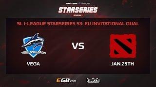 Vega Squadron vs January 25th, Game 3, SL i-League StarSeries Season 3, EU
