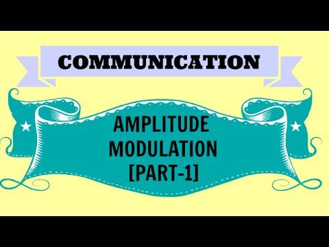 COMMUNICATION | AMPLITUDE MODULATION | PART-1| BSNL JE(TTA)| JTO | ENGINEERING EXAMINATIONS