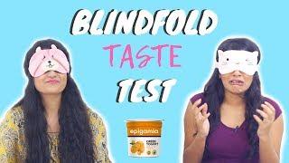 Blindfold Yogurt Taste Test Challenge With A Twist | Dhwani Bhatt