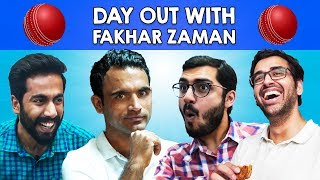 Day Out with Fakhar Zaman (aka Fauji) | Cricket Vlog | MangoBaaz