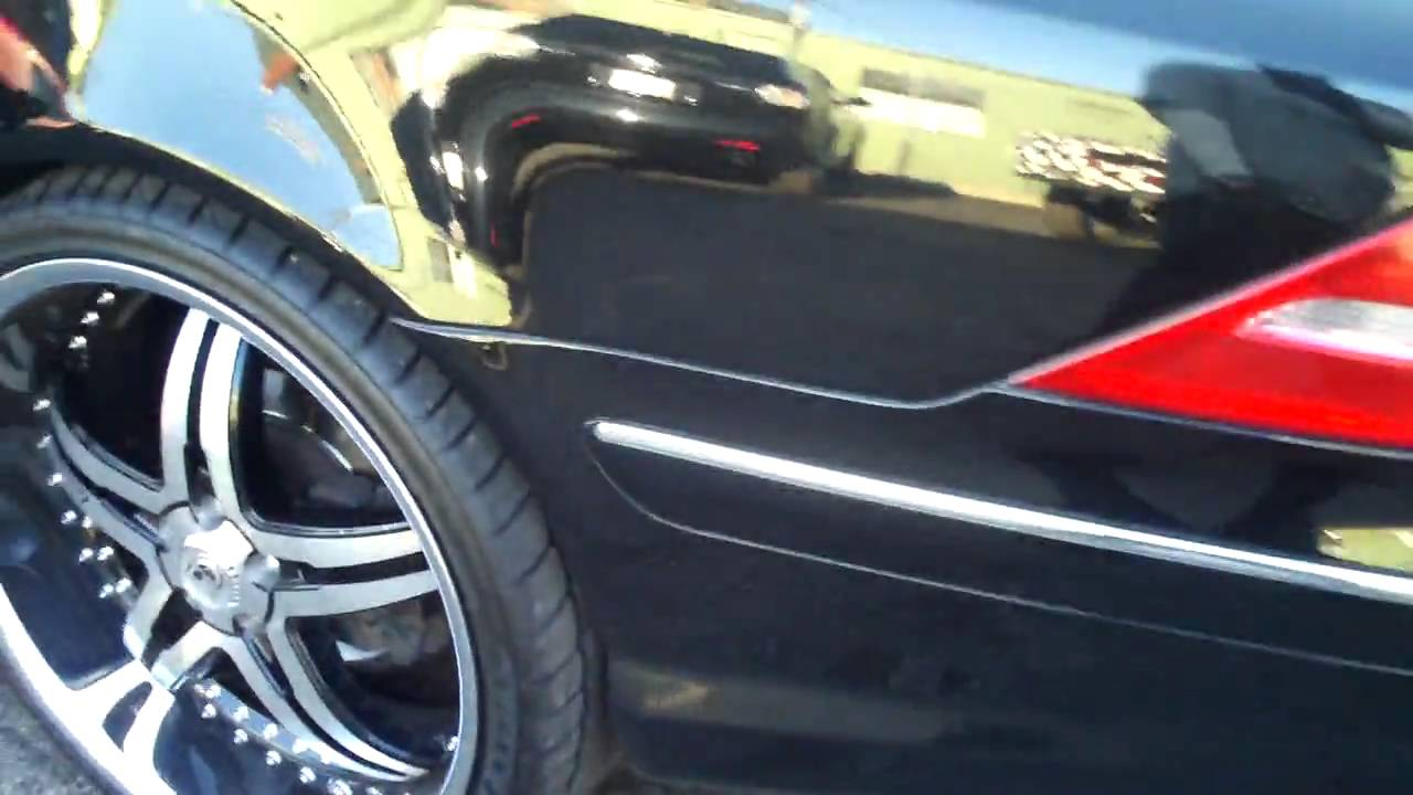 Mercedes Benz Cl500 On 22 Quot Lexani Rims Youtube