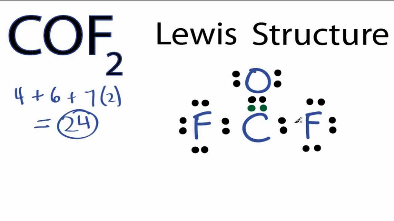 lewis dot diagram for bromine 1962 ford 4000 tractor wiring cof2 structure - how to draw the youtube