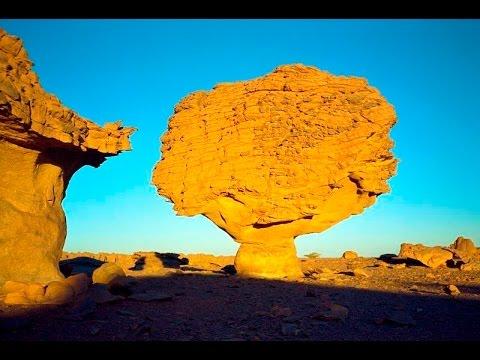 Wow !!! Prehistoric Rock Art paintings in Algeria, Tassili N