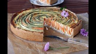 Киш с Морковью и Цукини (Кабачками). Идеальный Обед! Домашний ресторан®