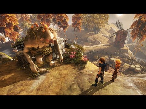 Brothers : a Tale of Two Sons PS4 Pro Boost Mode On Gameplay