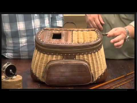 antique fly fishing tackle on the antiques road show (2012) - youtube, Fly Fishing Bait