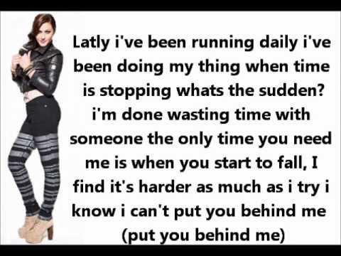Alyssa Reid Talk Me Down Lyrics