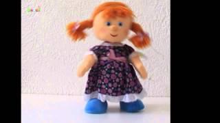 """Видео обзор Мягкая игрушка Кукла танцующая в сарафане Lava (LA8767As) магазин """"Шкет"""""""
