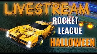 LIVE / ROCKET LEAGUE HALLOWEEN OPENING CRATES FOR WHITE ZOMBA/PS4/JOIN
