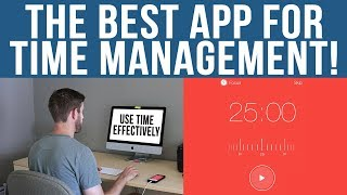 The Best App for Time Management - Pomodoro Technique