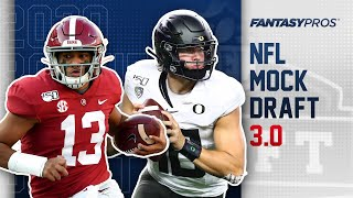2020 NFL Mock Draft | FULL Rounds 1 & 2 with Trades